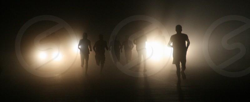Night Runners. photo