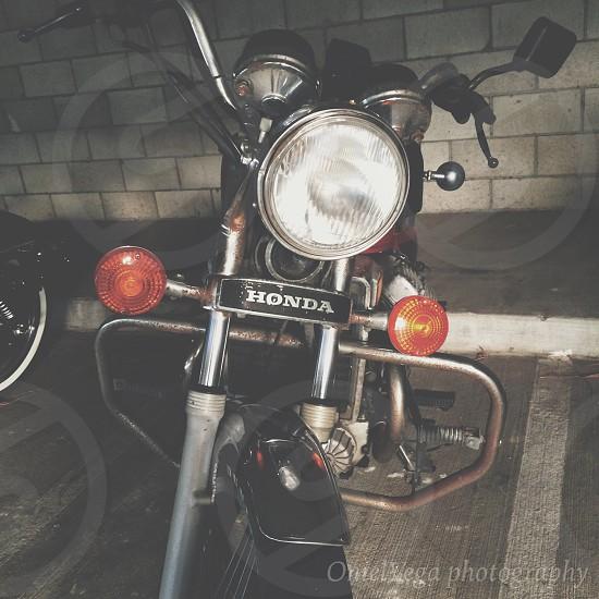 Honda cx500 photo
