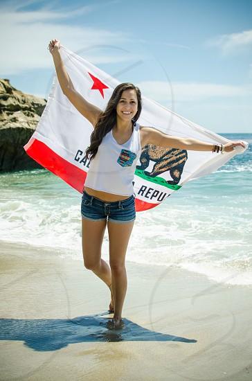 Beach California Laguna Orange County Fun  photo