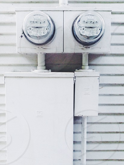electric meters photo