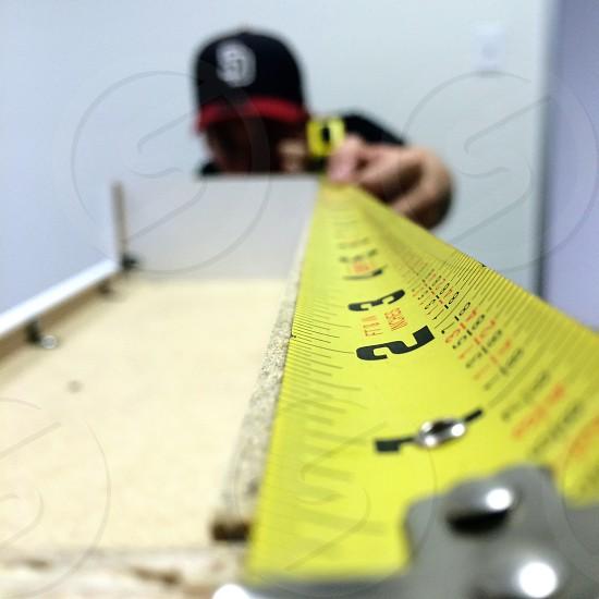 retractable tape measure photo