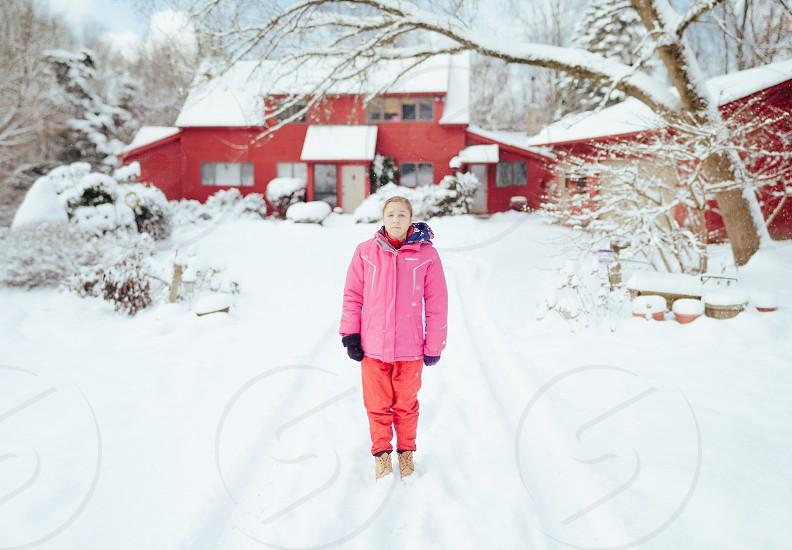 Brenizer Method + Snow Day = Happiness photo