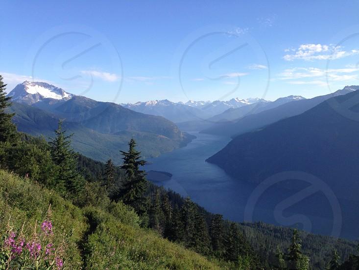 Desolation Peak Hike Nature Mountains  photo