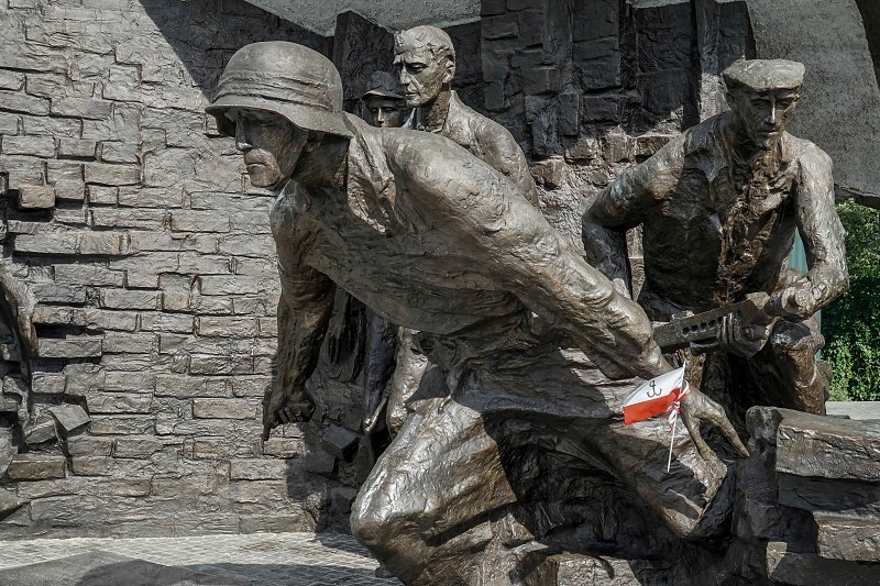Insurgents Memorial to Polish Fighters of Warsaw Uprising in Warsaw photo