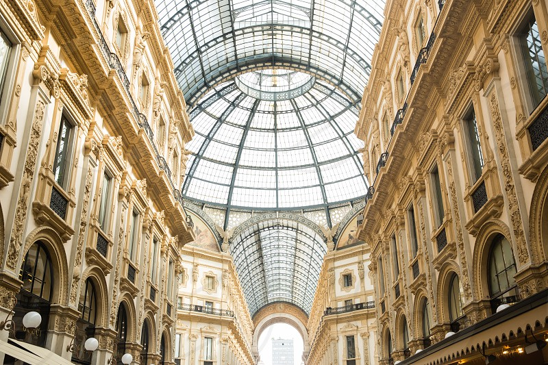 Galleria Vittorio Emanuele II Milan Italy photo