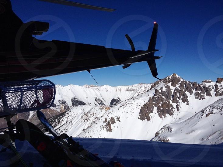 Heli skiing in Telluride CO photo