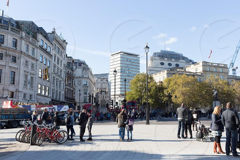 Trafalgar Square London photo