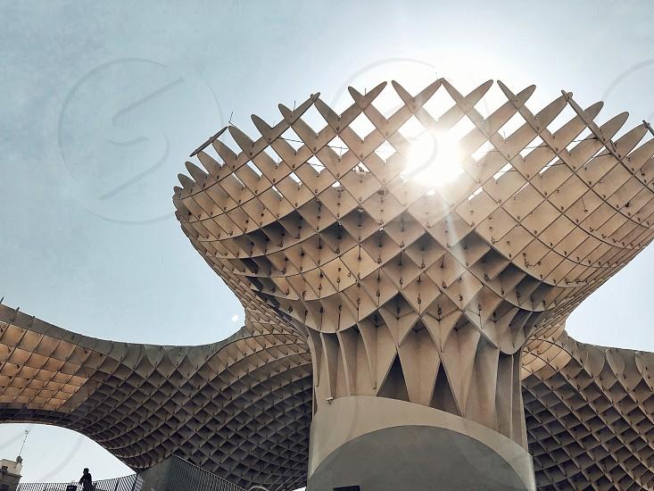 structure seville spain modern photo