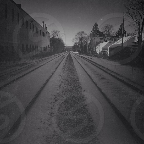 railroad tract photo