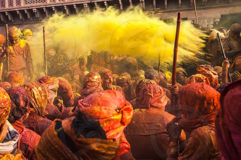 Holi Celebrations India photo