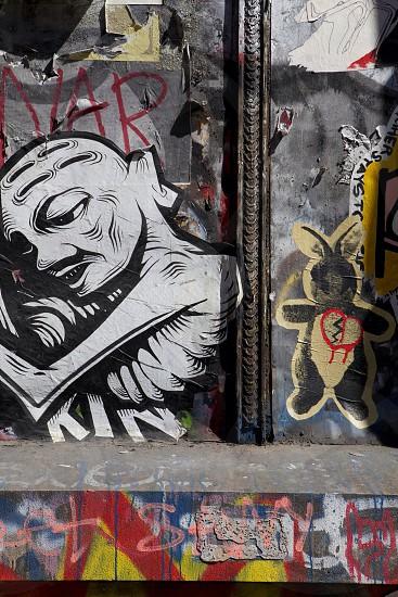 New York City graffiti photo