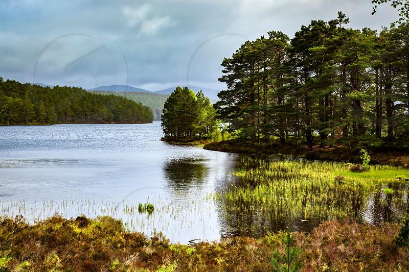 Scenic View of Loch Eilein photo