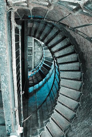Inside the Southeast Lighthouse Block Island Rhode Island photo