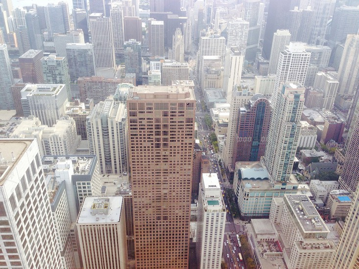 Chicago 360 heights vertigo skyline cityscape  photo