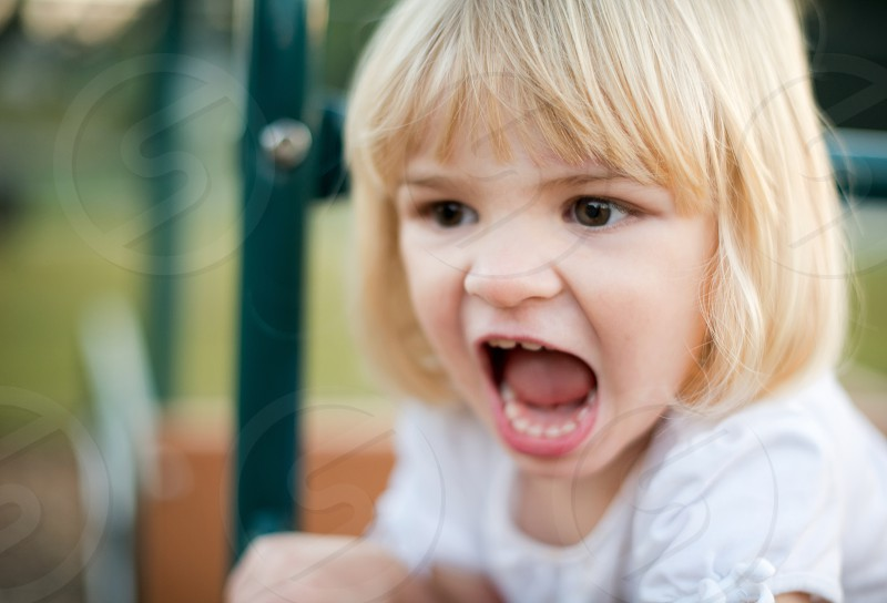 Childhood rage. photo