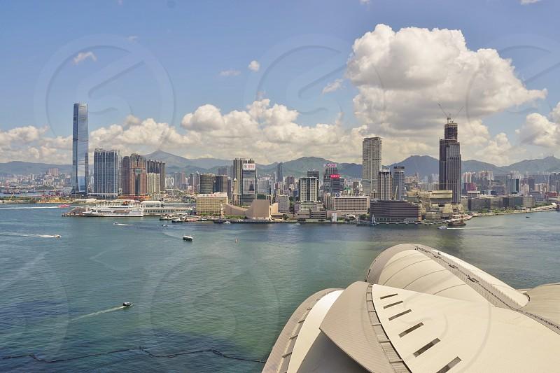 Victoria Harbour - Hong Kong photo