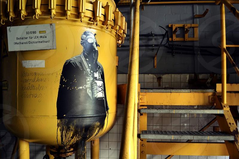 Toxic Tanks or abandoned Photo Laboratory  photo