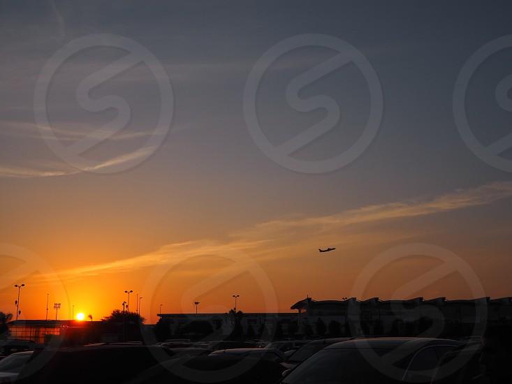 sky 夕焼け  photo