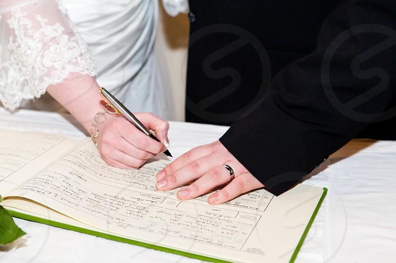 Wedding Register photo