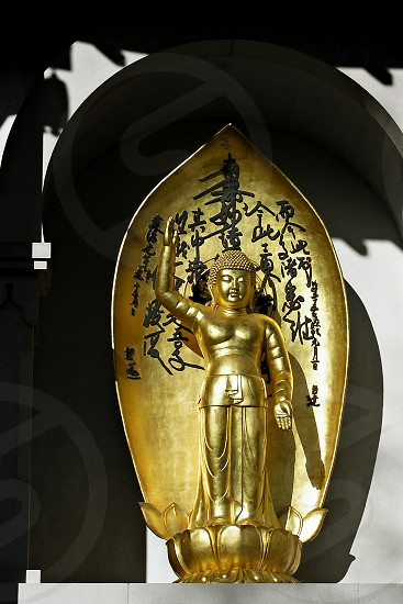 Golden Statue Battersea Park photo