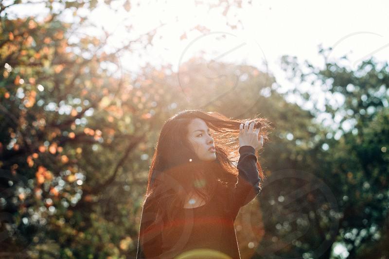 Sun-flare photo