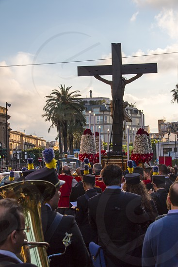 Procession to the Holy Cross photo