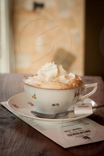 Viennese coffee photo