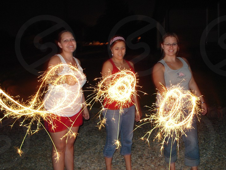 Friends on the 4th of July photo