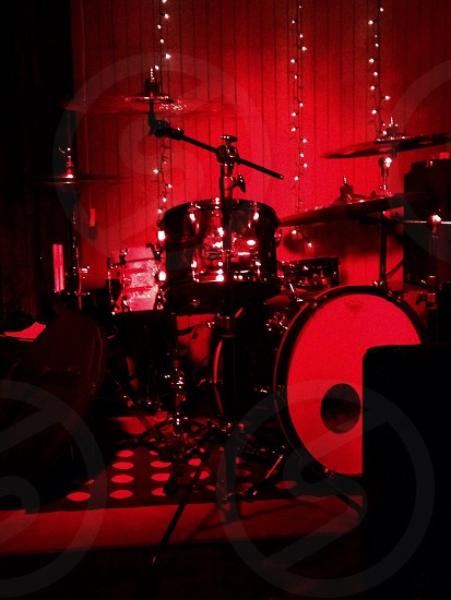 Drums-Music-Band-Stage photo