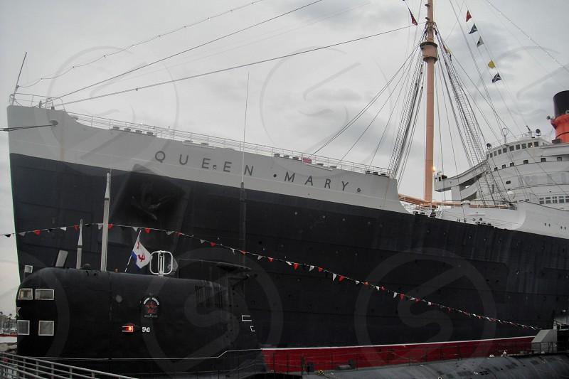 Queen Mary harboured photo