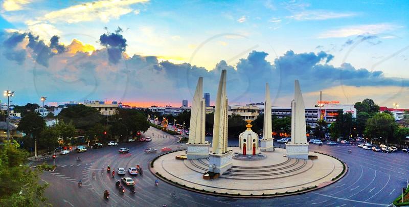 Democracy Monument of Thailand  photo