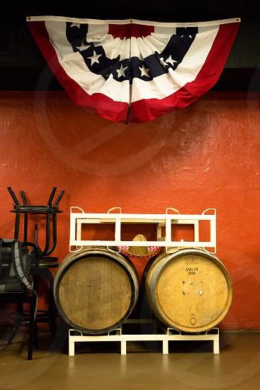 beer barrels photo