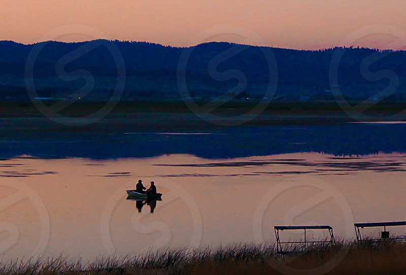 Fishing near Sacramento California  photo