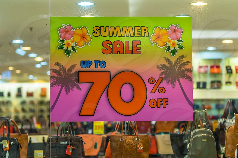 Summer Sale up to 70% off. photo