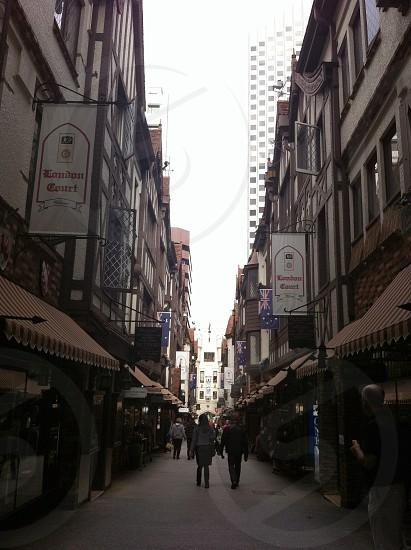 Streets of Perth WA. Australia photo