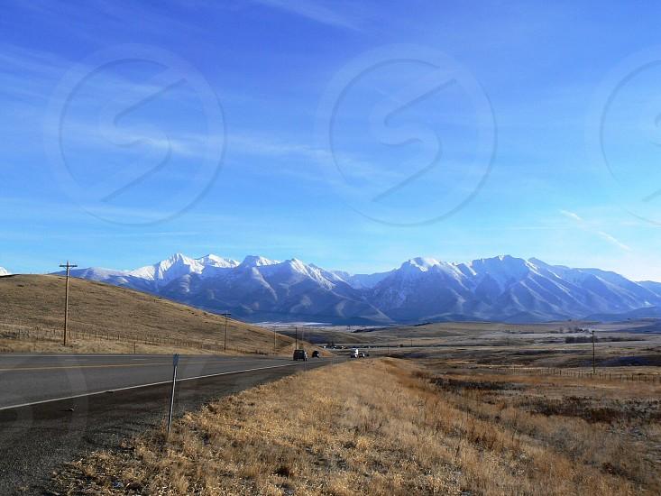 Road trip Mission Mountains Montana  photo