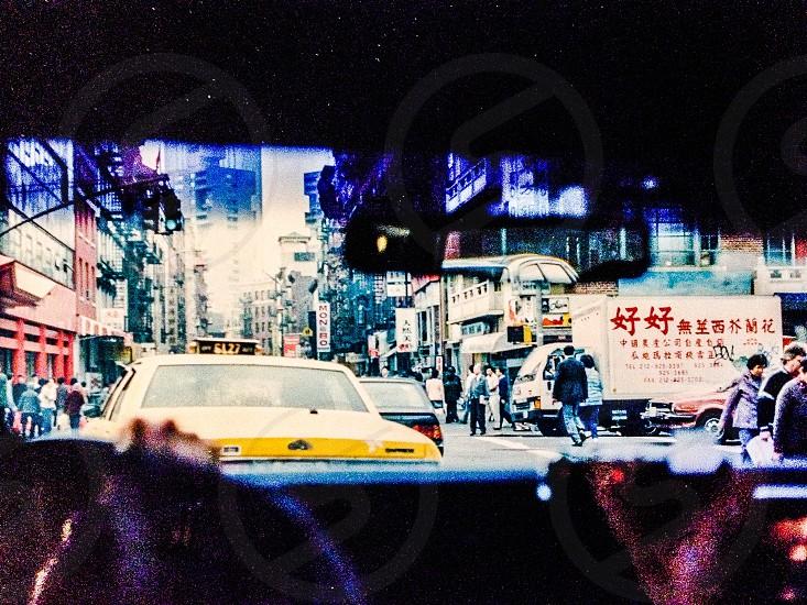 NYC cab photo