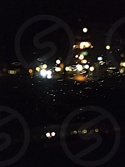 Late night rain Sweden photo