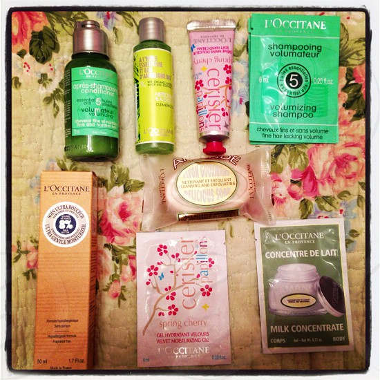 Cosmetics face wash cream l'occitane photo