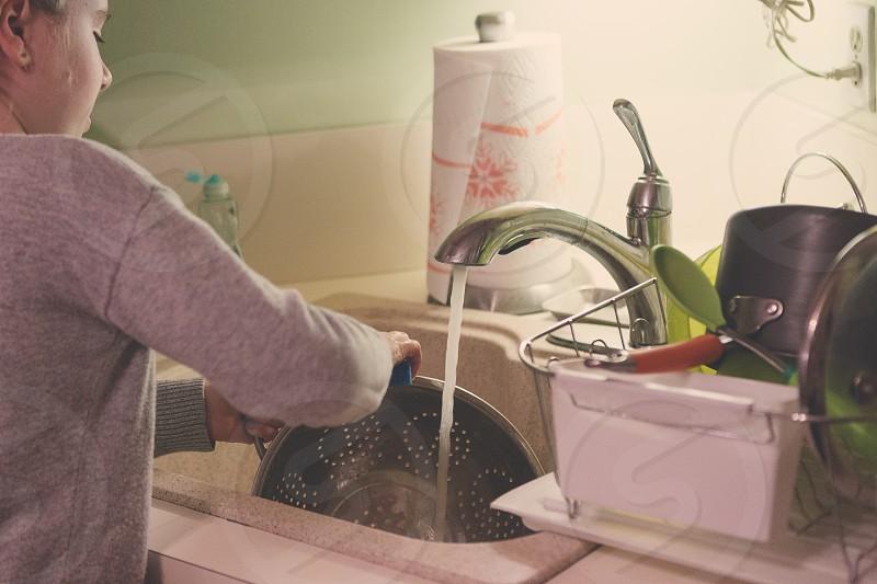 household chores photo