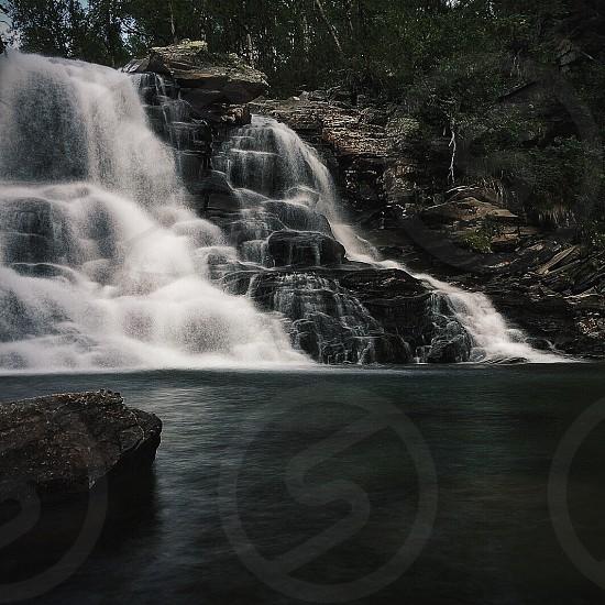 rushing waterfalls photo