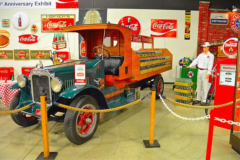 Coke museum autos photo