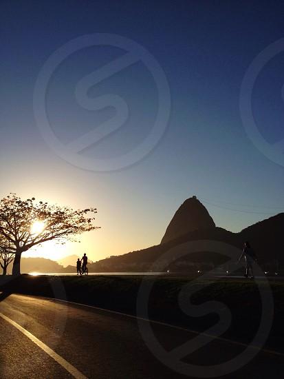 Life in Rio de Janeiro - Waking up with the sun. photo
