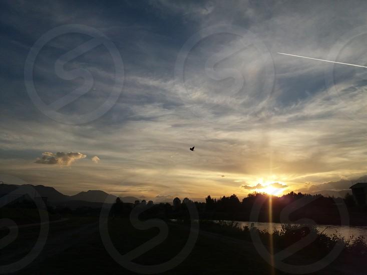 SkopjeMacedonia-summer sunset photo
