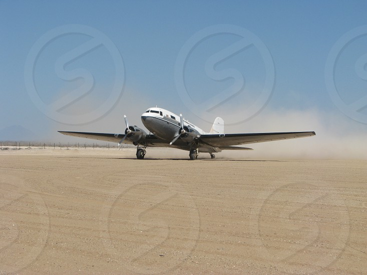 DC3 Aircraft Baja Mexico photo