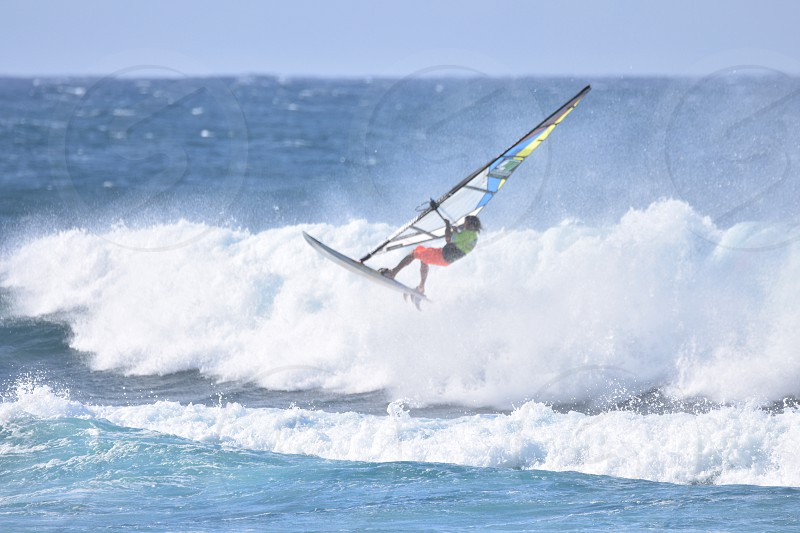 Windsurf ocean Hawaii  photo