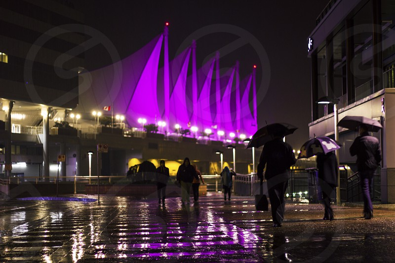 Canada place Vancouver Canada  photo