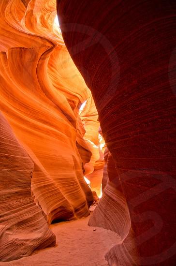 Antelope Canyons in Arizona. photo