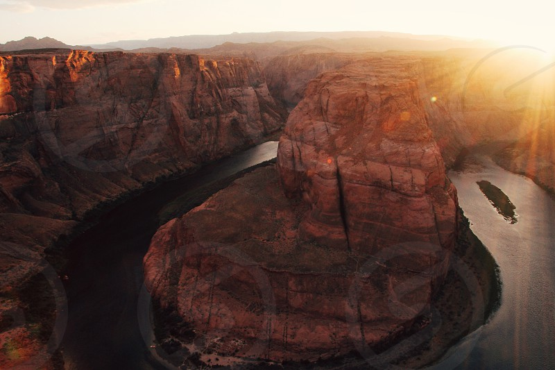 Horseshoe bend horseshoe bend usa United States Utah Arizona sunset sunrise photo