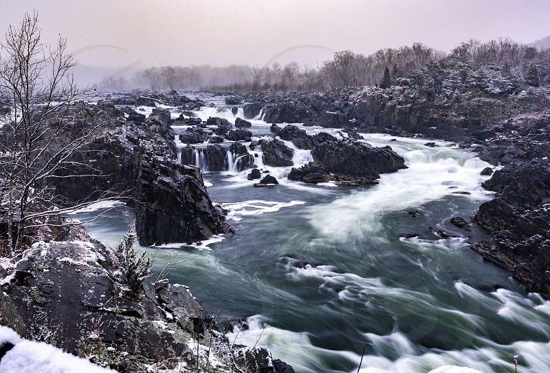 Waterfall National Park Potomac great falls  photo
